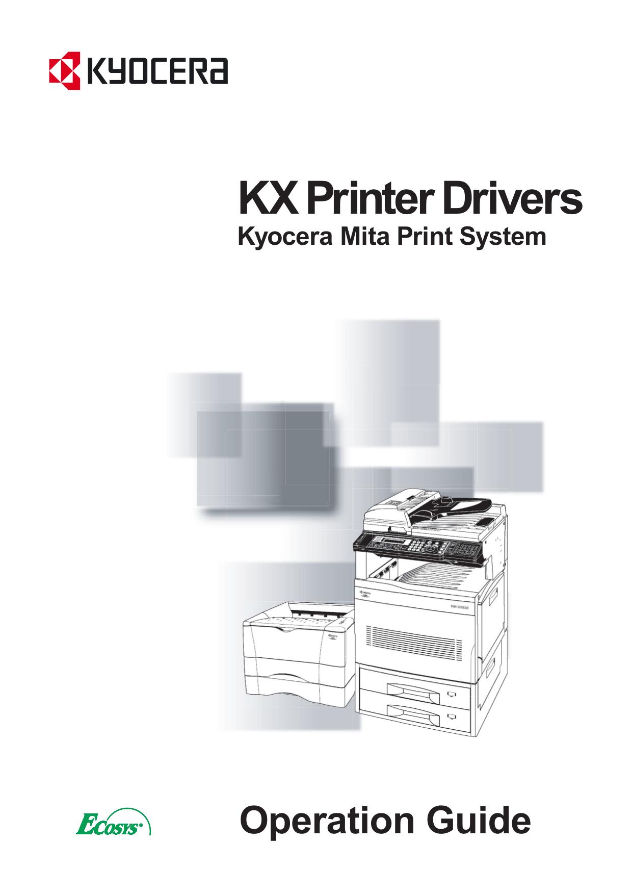 Kyocera Drivers Download